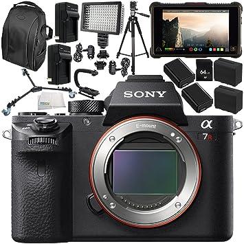 Amazon.com : Sony Alpha a7R II Mirrorless Digital Camera ...