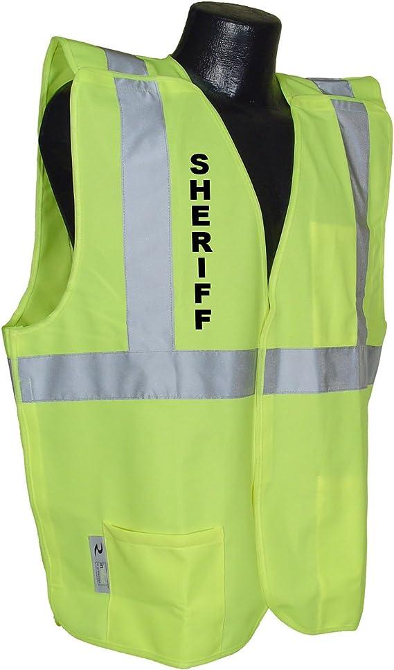 Medium Radians SV4GSM Class 2 Breakaway Solid Safety Vests Green