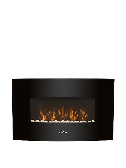 PURLINE Chimenea Eléctrica CHE-440 Negro