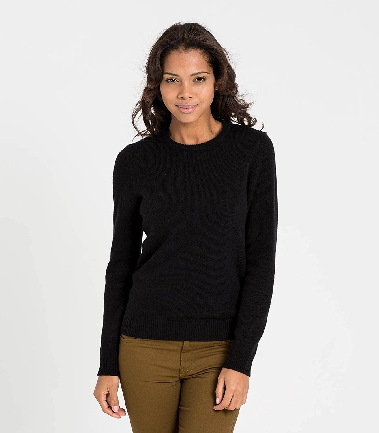 Woolovers Womens Lambswool Crew Neck Jumper  Amazon.co.uk  Clothing 23ee0af92