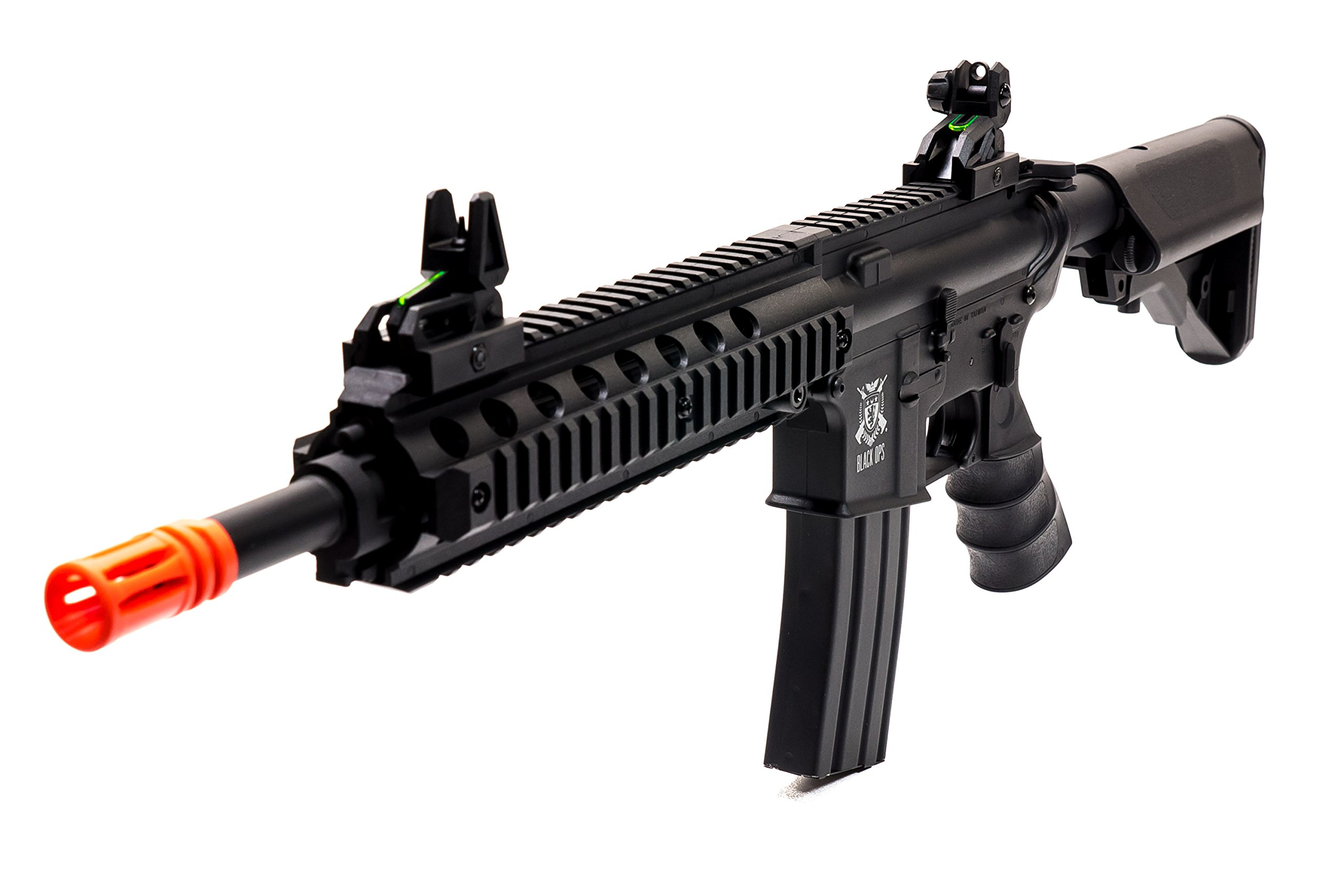 Black Ops M4 Viper Upgraded Airsoft AEG Rifle .20 .25 BB Ammo