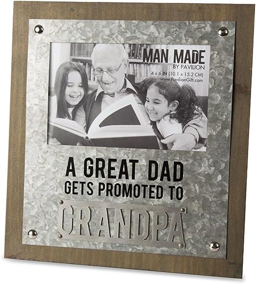 Engraved Photo Frame Papa Grampa Uncle Christmas Gift