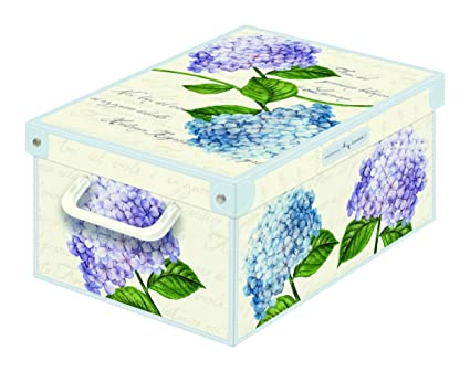 Amazon Kanguru Collection Small Ortensiehydrangeas Decorative Enchanting Small Decorative Storage Boxes With Lids