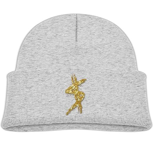 067f026df2022 Amazon.com  Beanie Cap Golden Glitter Dollar Sign Winter Knit Hat ...
