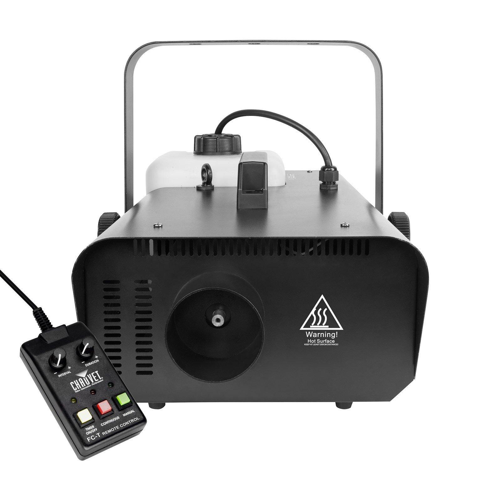 Chauvet DJ Hurricane 1302 Compact 20K CFM Fog Smoke Effect Machine Timer Remote (Renewed)