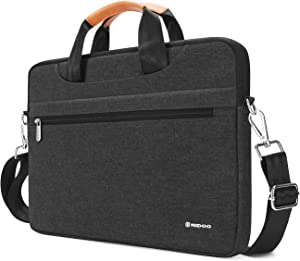 NIDOO 10 Inch Laptop Sleeve Case Water-Resistant Computer Briefcase Carrying Handle Bag for 10.5