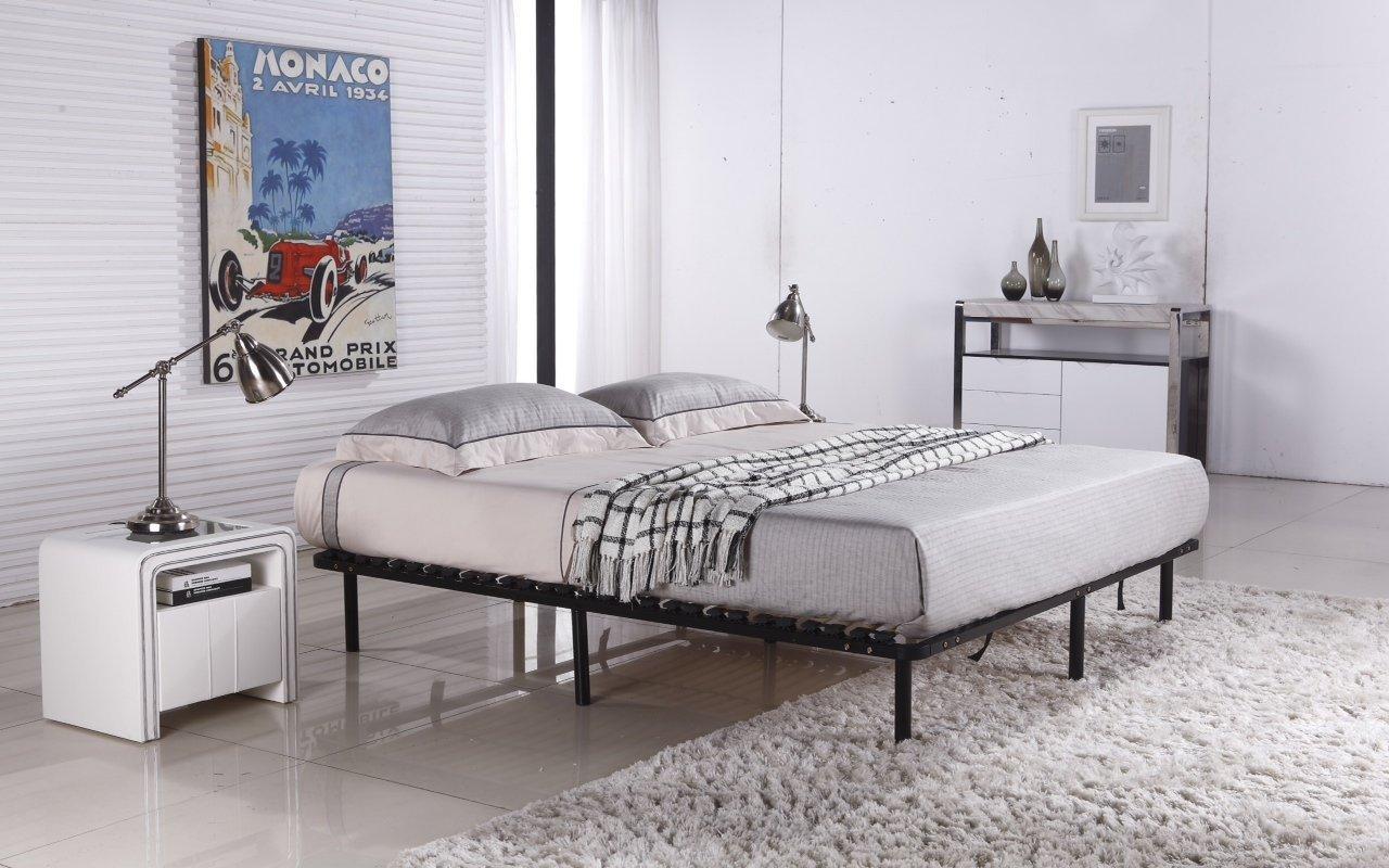 Somier de láminas con 9 patas, cama., 140 x 200 cm: Amazon.es: Juguetes y juegos