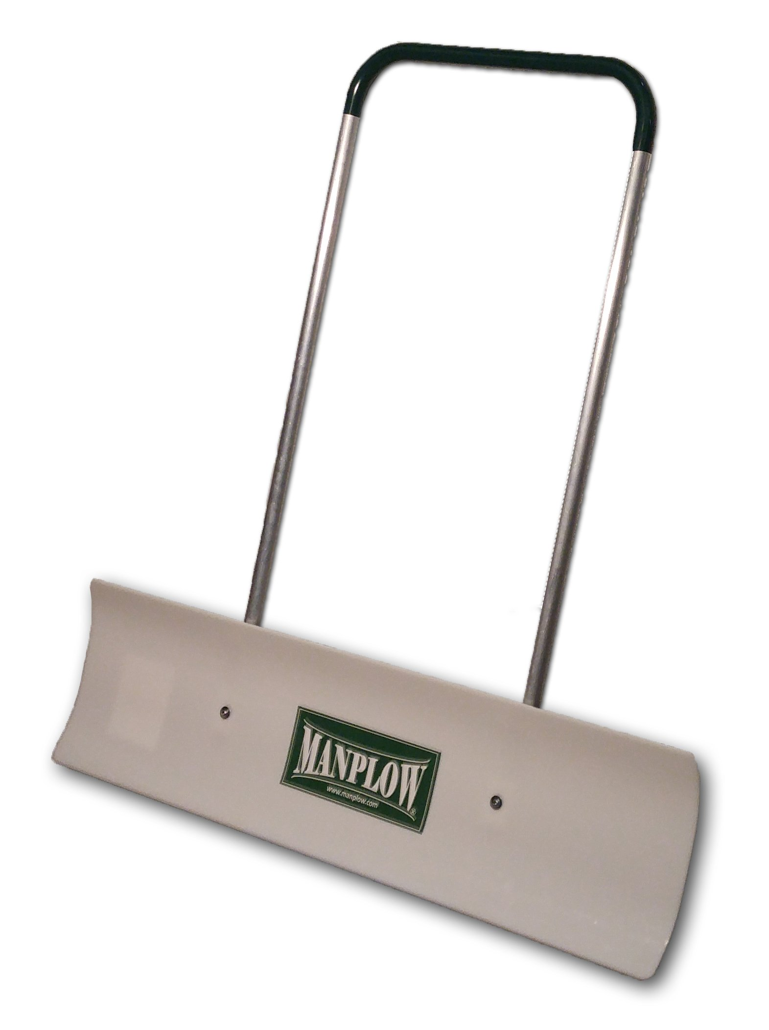 Manplow REV423PK - 42 Inch Revolution Snow Pusher with rotating blade  & Aluminum U Handle w/ No-Slip Grip (Pack of 3)