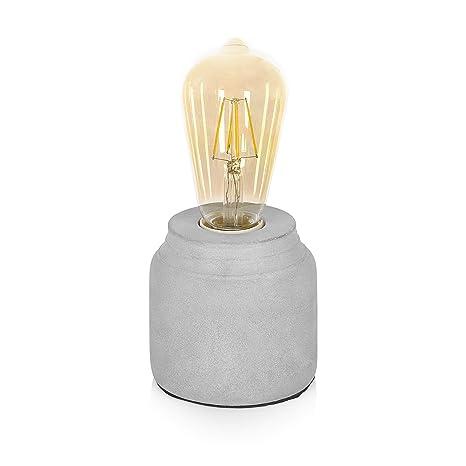 Smartwares IDE-60005 Lámpara de Mesa, Gris: Amazon.es ...