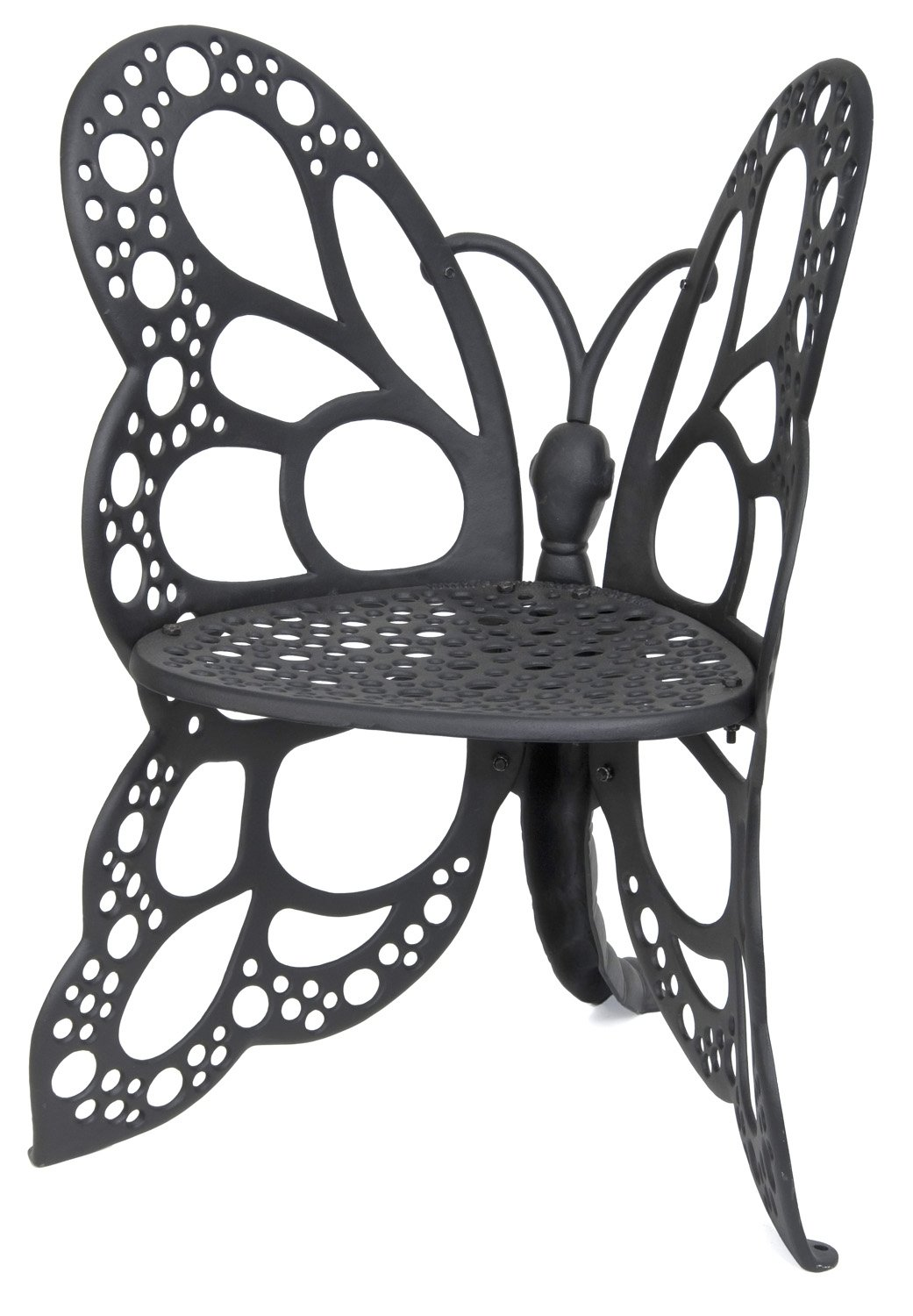 Butterfly metal chair - Amazon Com Flower House Fhbc205w Butterfly Chair White Flowering Plants Patio Lawn Garden
