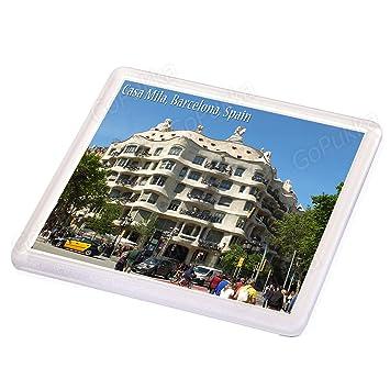 Amazon.com: Casa Mila Building Barcelona Spain - Souvenir ...