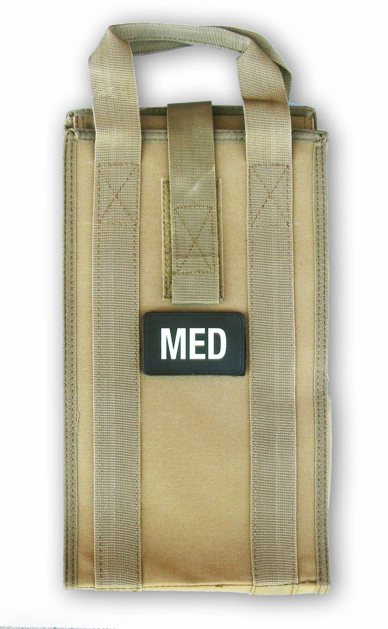 Medical Pack Insert (Coyote Brown) - Fully Stocked by Rescue Essentials
