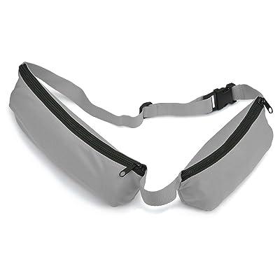 Étui de ceinture avec 2poches gris Lot de 5