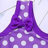 iEFiEL Baby Girls Cute Polka Dot Bow Ruffle