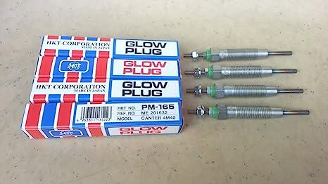 Calentador de Glow Plug Mitsubishi 4 M40 Pajero Montero Canter Delica Triton 11 V