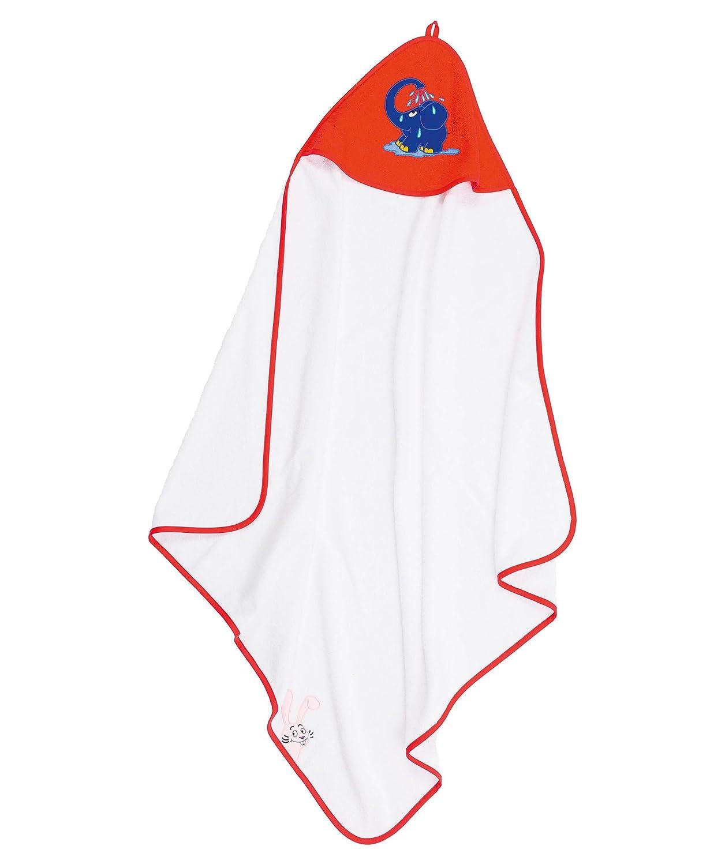 'Ragazze e ragazzi asciugamano con cappuccio tutte le occasioni con blauer elefanti–Asciugamano con cappuccio amici  1503044