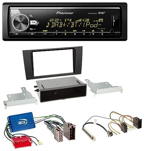 Pioneer x580dab Bluetooth USB DAB MP3 Radio de coche para Audi A4 B5 99 – 01