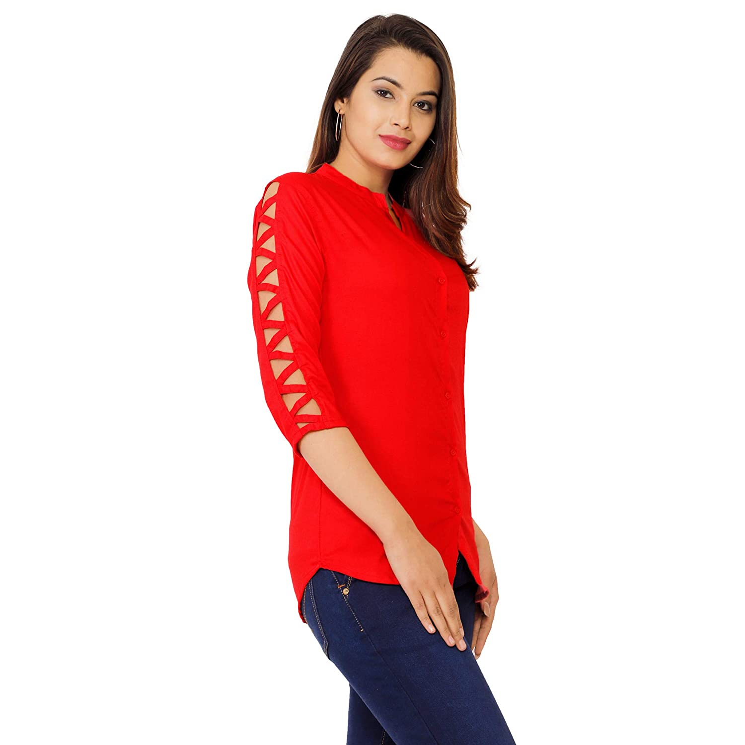 Women's Beautiful Designer Rayon Top