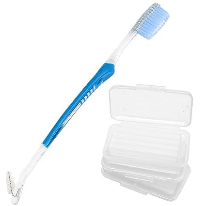 3 Cera de alivio ortodóntico y 1 cepillo de dientes ortodóntico ...