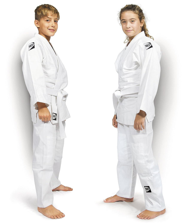 GREEN HILL Judogi Junior 350gr//M2 Kimono Divisa Judo Jiu Jitsu Unisex Bambini