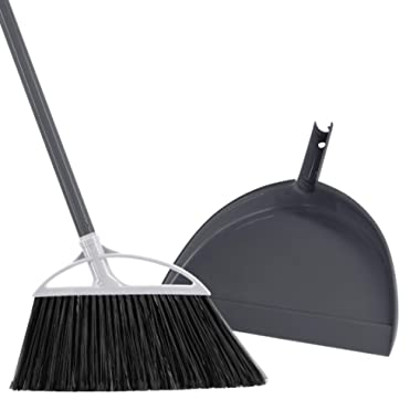 Radley & Stowe Angle Broom with Dustpan