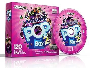 Zoom Karaoke Pop Box 2 Party Pack - 6 CD+G Box Set - 120 Songs  explicit_lyrics
