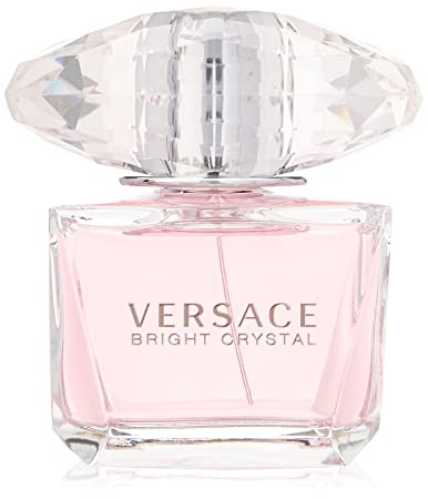 Versace Bright Crystal Eau De Toilette Spray For Women 3 Ounce