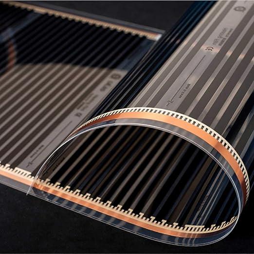 elektrische Heizung 0,5x4,5m Fl/ächenheizung Folienheizung zur Selbstverlegung