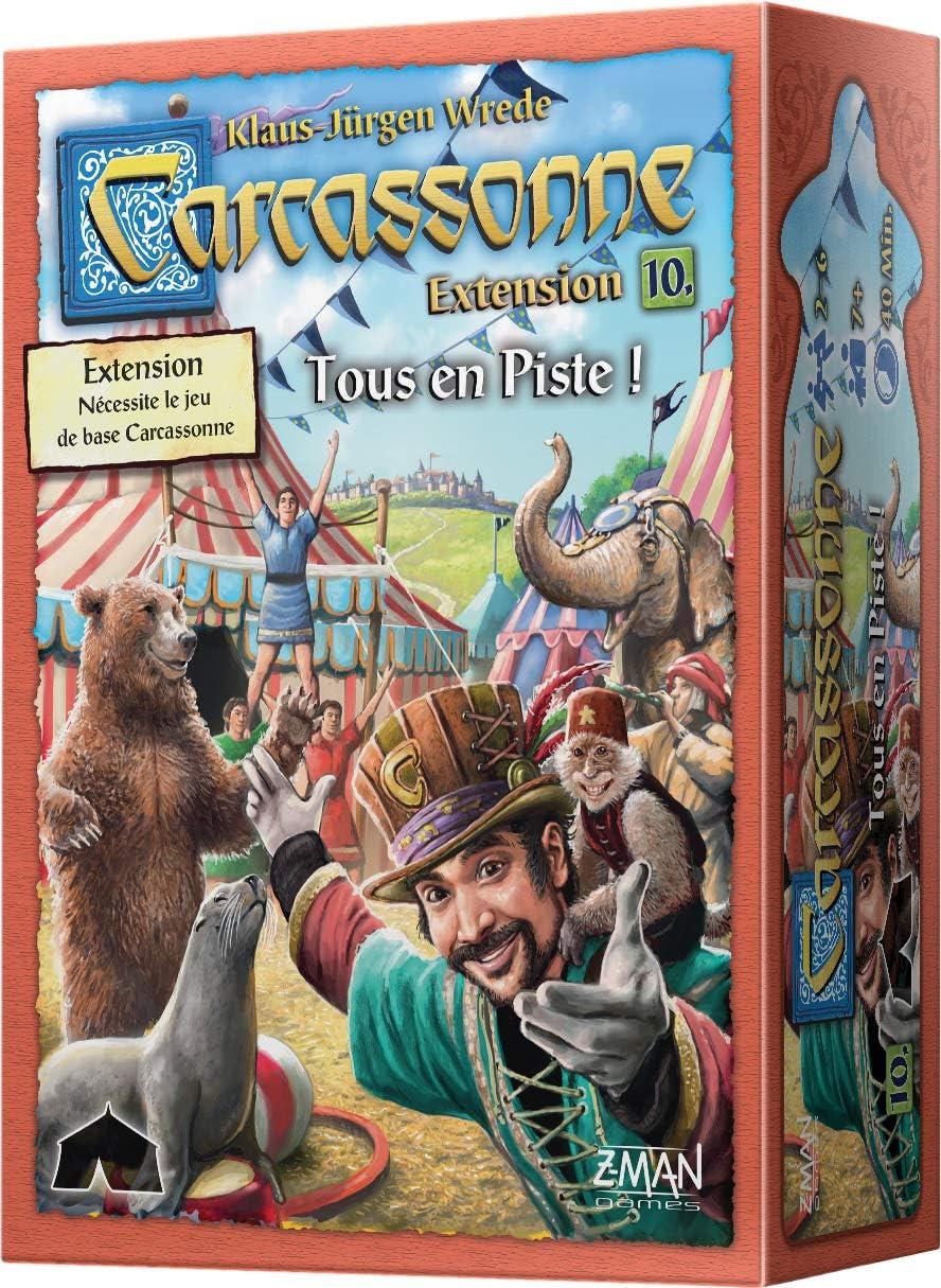 Asmodee Carcassonne – Ext. 10 Todos en Pista: Amazon.es: Juguetes ...