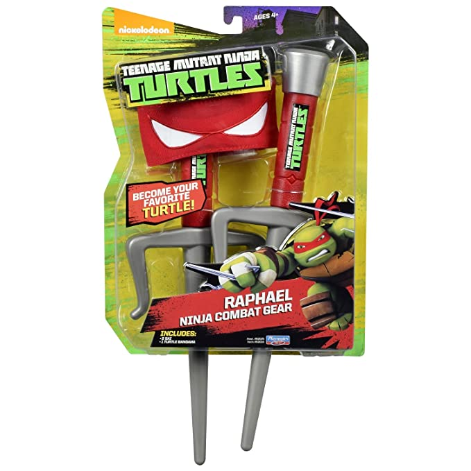 Teenage Mutant Ninja Turtles 14092034 - Set combate de Raphael de Tortugas Ninja, modelo surtido