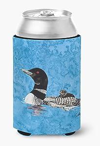 Caroline's Treasures 8718CC Bird - Loon Can or Bottle Beverage Insulator Hugger, Can Hugger, multicolor