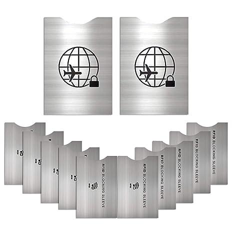 862c4aaafcc19a Set da 12 Protezione RFID - ANTI FRODE- Protezione di Carte di Credito e di