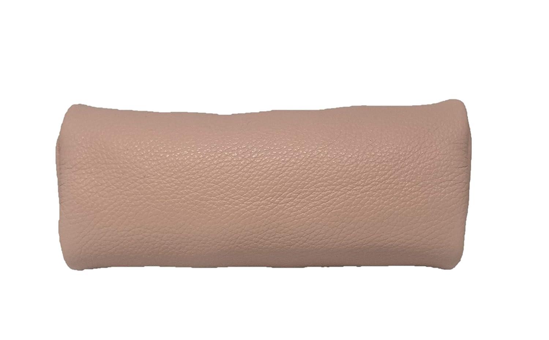 Estuche de piel aut/éntica LCTi color marr/ón fabricado en Italia 21 cm//6,5 cm//8 cm