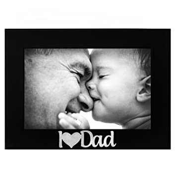 Amazoncom I Love You Dad Picture Frame Glass Front Color