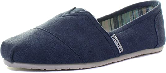 Dunlop - Alpargatas de lona para hombre, azul - azul oscuro, 41 EU ...