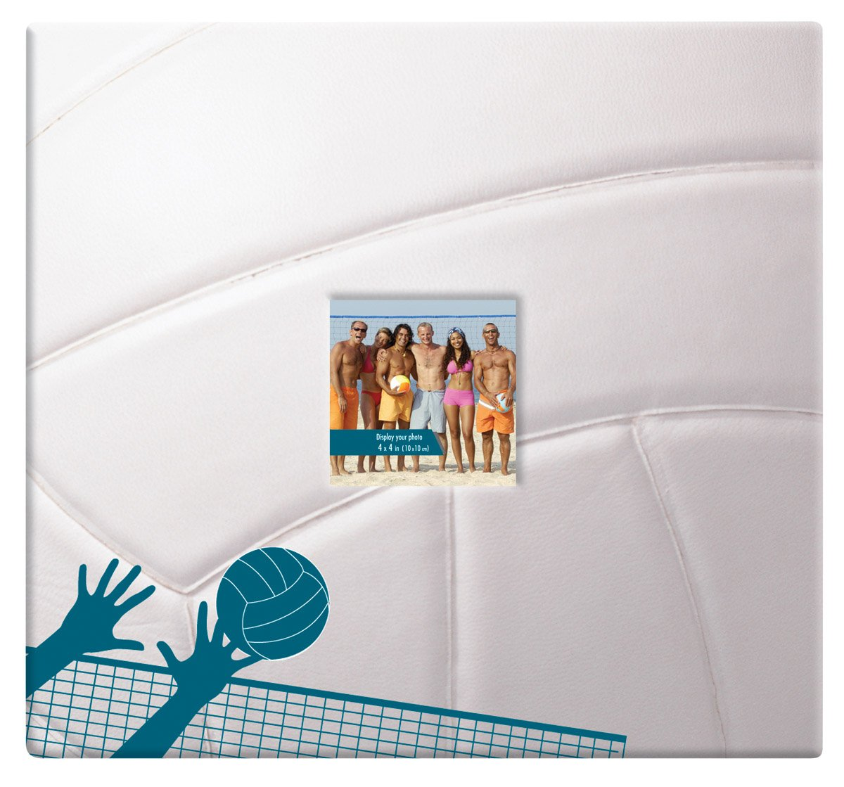 Mbi Sport & Hobby 12 Inch by 12 Inch Postbound Albums, Volleyball (865408) by MCS