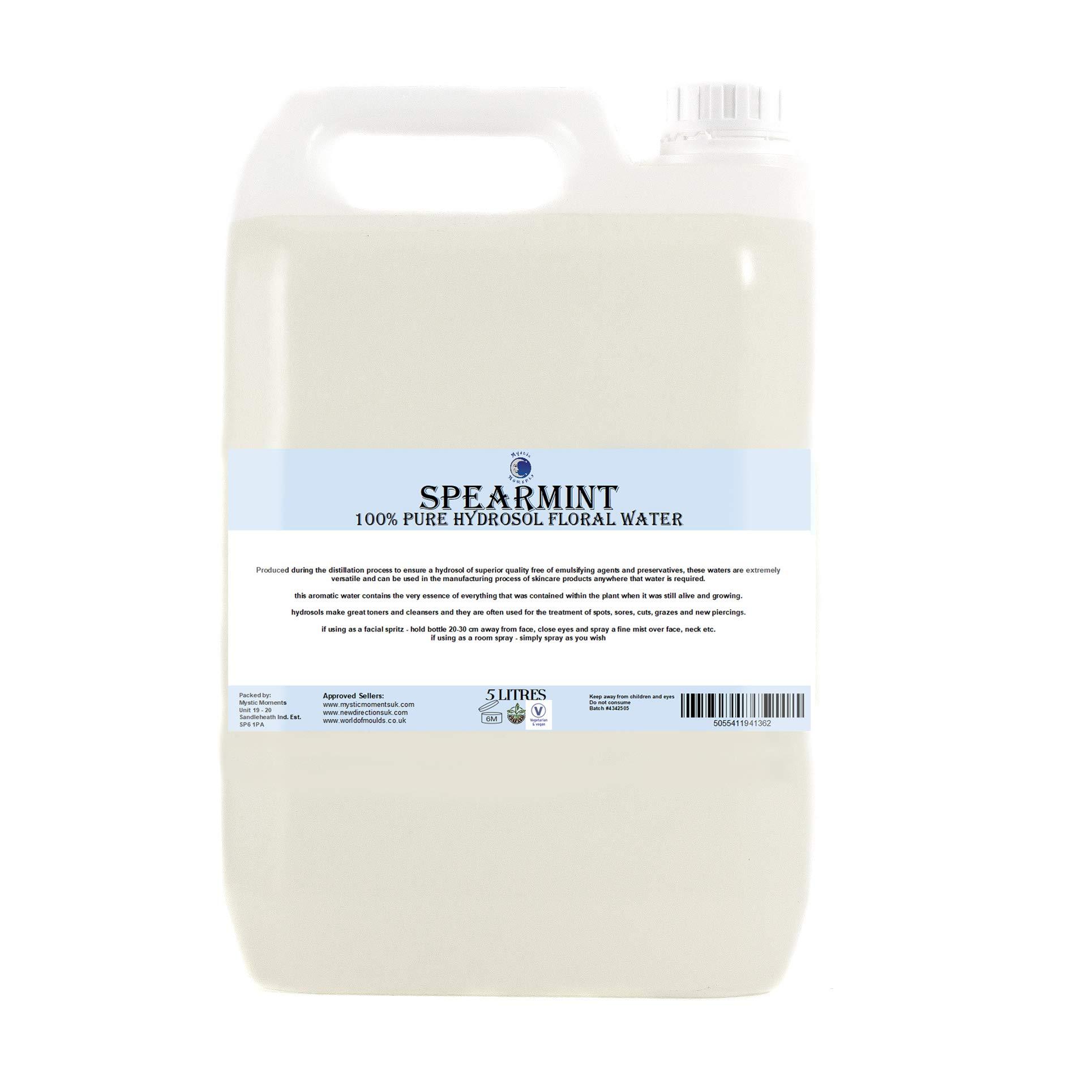 Spearmint Hydrosol Floral Water - 5Kg by BiOrigins (Image #1)