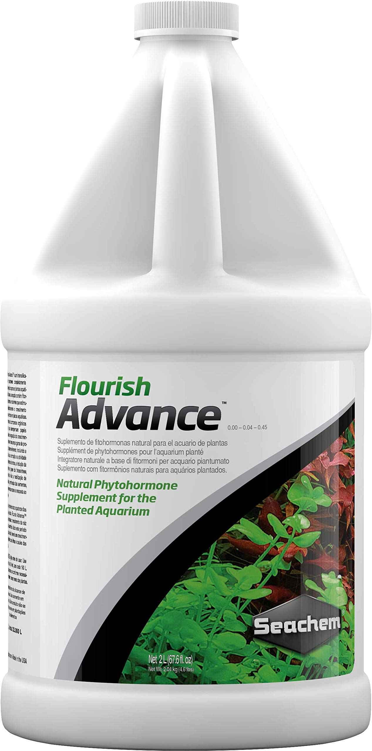 Seachem Flourish Advance Growth Supplement - Aquatic Plant Aid 2 L