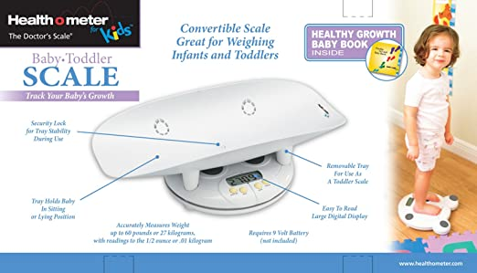Amazon Health O Meter Grow With Me 2 In 1 Baby To Toddler Scale