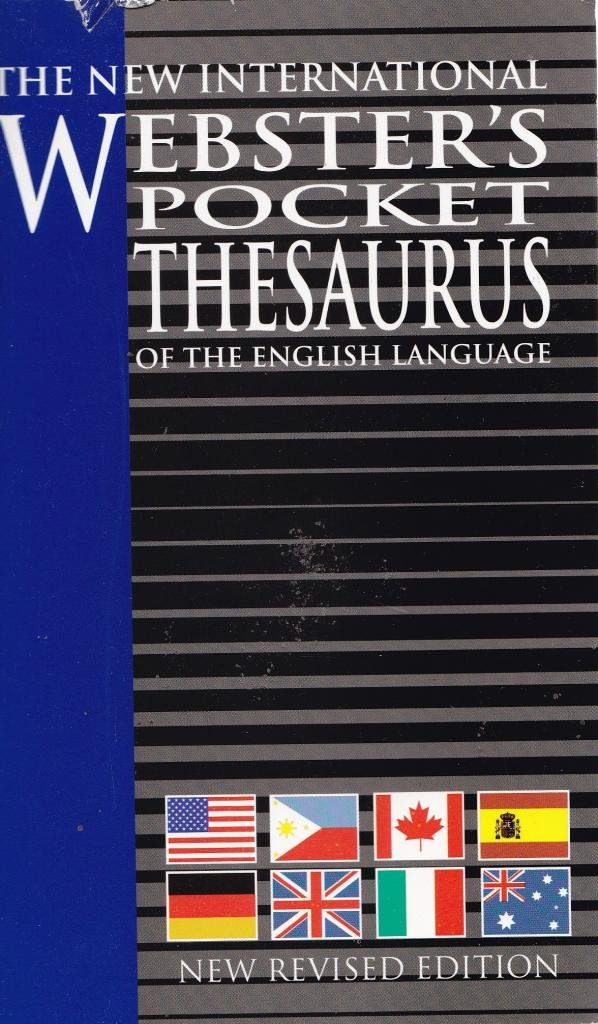 The New International Webster's Pocket Thesaurus of the English Language, New Revised Edition ebook