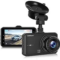 $69 » Campark Dash Cam 4K UHD DVR Dashboard Car Cameras with 170°Wide Angle Night Vision G…