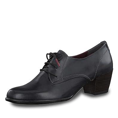 Femme Pour 23305 1 29805 Chaussures Bleu Tamaris À Lacets Z7qU0