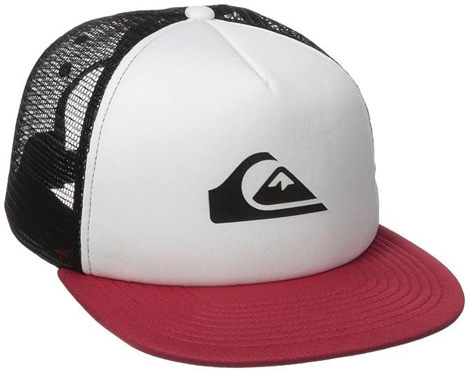 Quiksilver Hombres AQYHA03528 Gorra de béisbol - Rojo - Talla única: Amazon.es: Ropa y accesorios