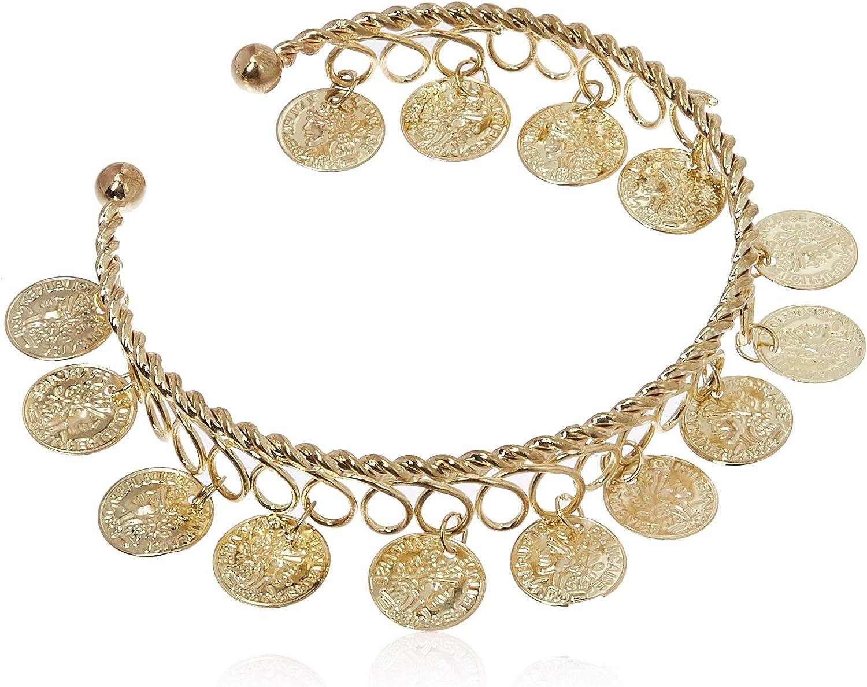 Rubie's Costume Co. Women's Gold Coins Bracelet Costume Accessory