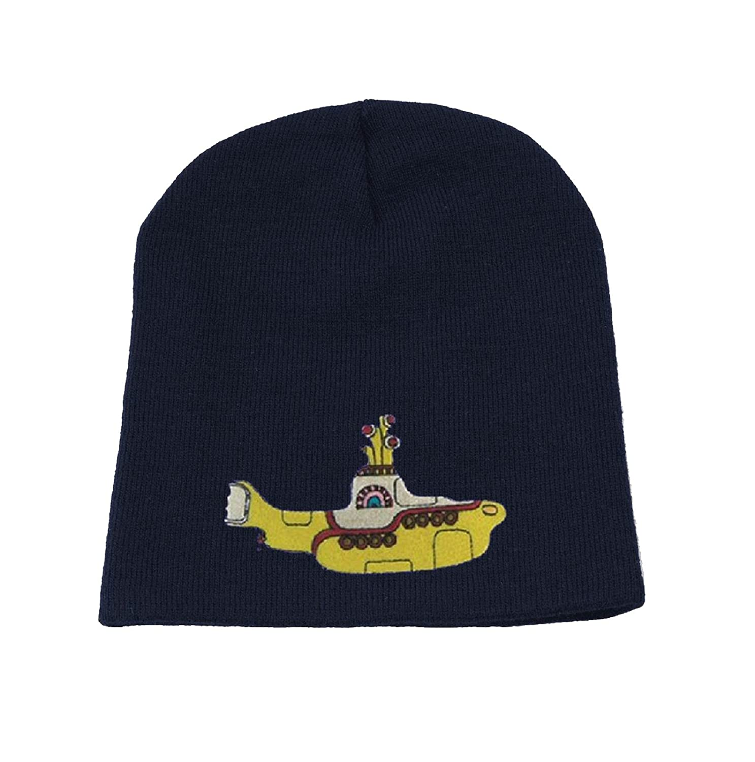 The Beatles Beanie Hat Cap Yellow Submarine new Official