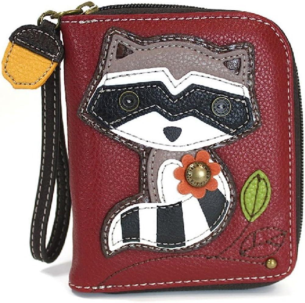 Wristlet 8 Credit Card Slots Sturdy Coin Purse for women CHALA Handbags Zip Around Wallet