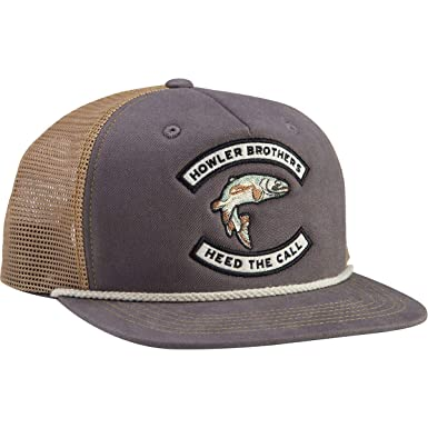Howler Brothers Trout Snapback Charcoal e95def8e966