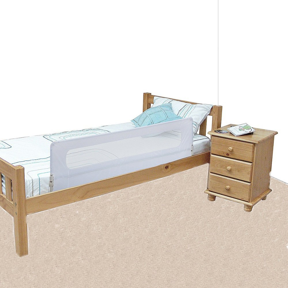 Safetots Extra Wide Bed Rail White Amazoncouk Baby