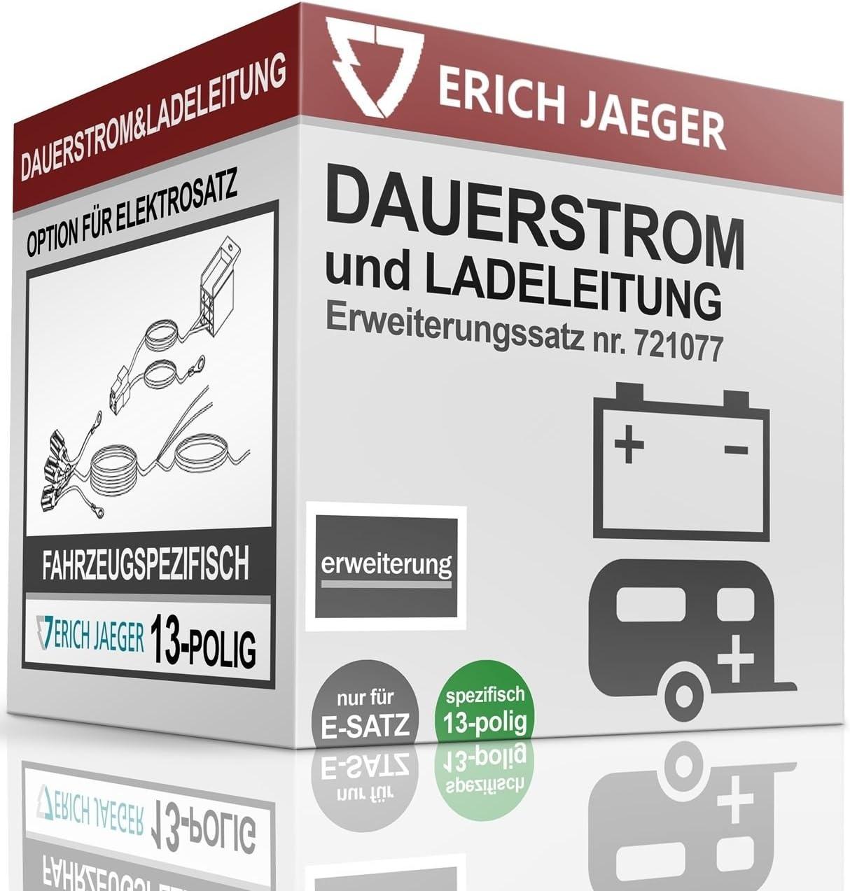 Für Citroen Jumpy Elektrosatz 13-pol spezifisch NEU Erich Jaeger