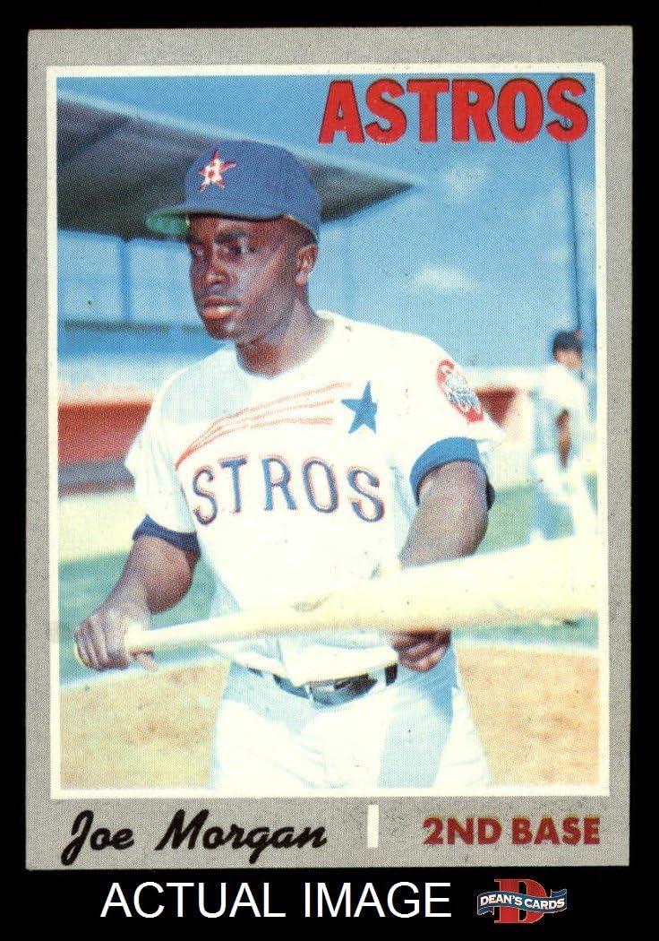 1970 Topps # 537 Joe Morgan Houston Astros (Baseball Card) Dean's Cards 6 - EX/MT Astros 71DimpjX7IL